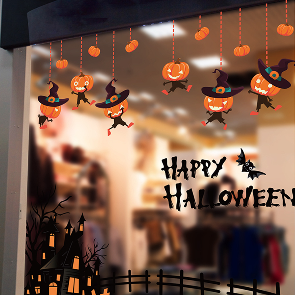 Wall Sticker custom Vinyl indoor decal window laptop removable witch at the whee