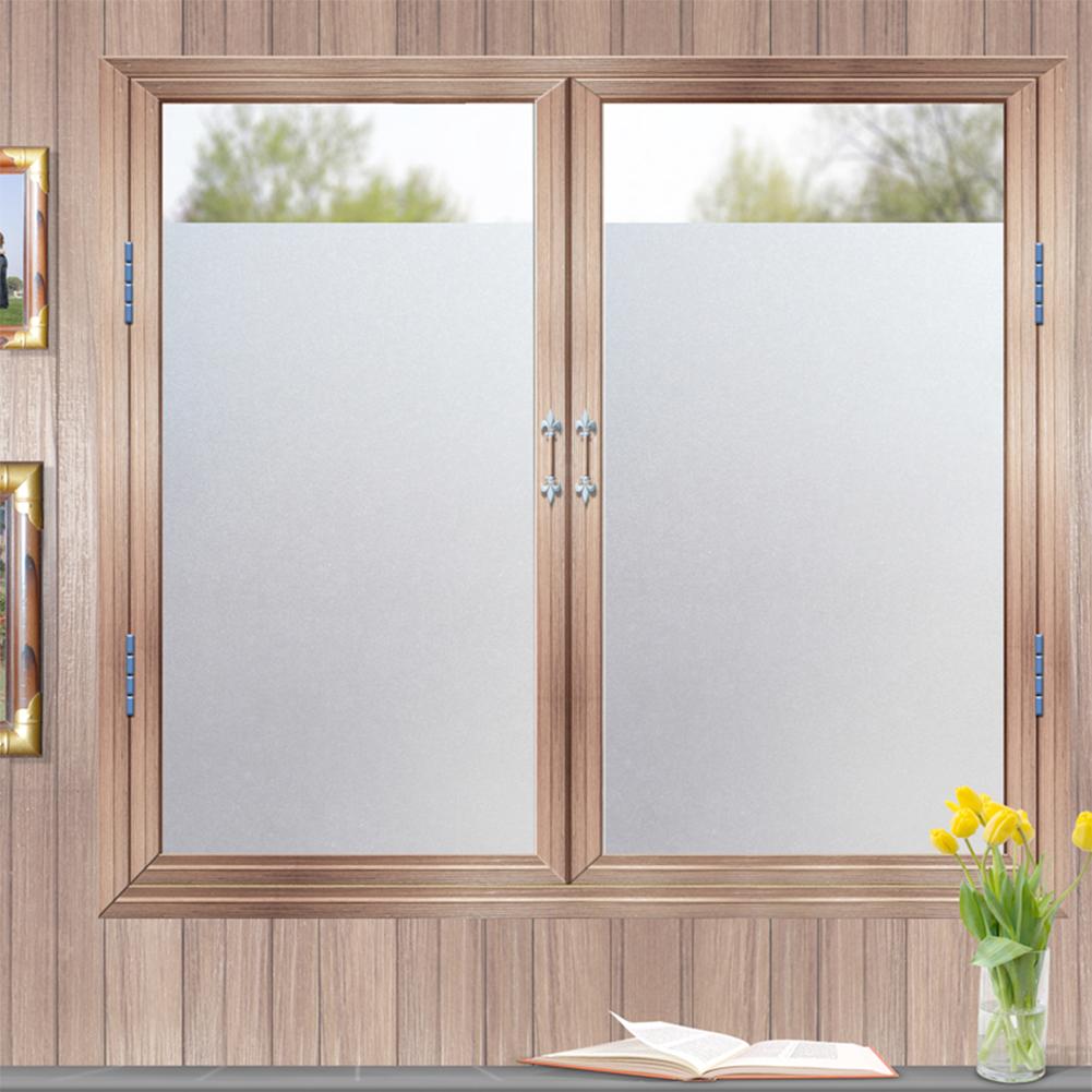 Application Daytime Privacy Window Glass Sticker Frosted Glass Film Window Film