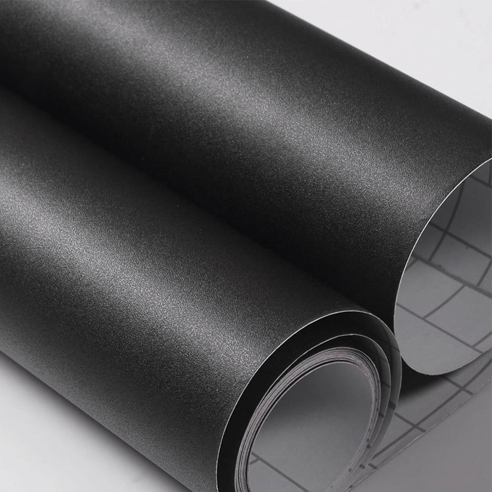 Plain Black Matte Contact Paper Vinyl Self Adhesive