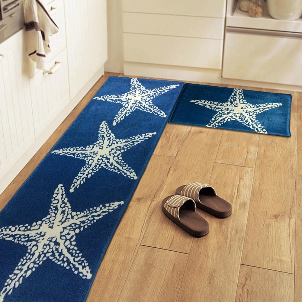 Non Slip Doormat Starfish Floor Mat